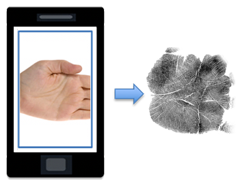 Palm AI Mobile Touchless ID